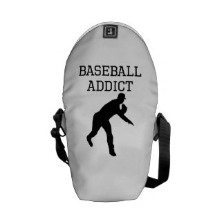 Baseball Addict Courier Bags