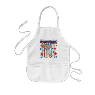 BASEBALL African American Boy tshirts and Gifts Kids' Apron
