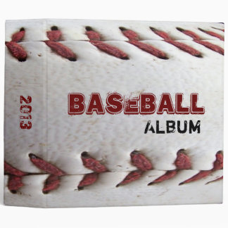 BASEBALL Album 3 Ring Binder