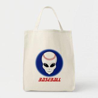 Baseball Alien bag