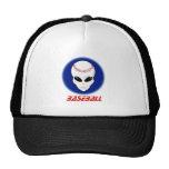 Baseball Alien Trucker Hat