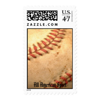 baseball, All American Sport Postage Stamp