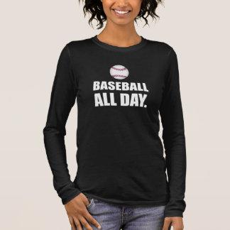 Baseball All Day Long Sleeve T-Shirt