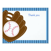 Baseball All Star Flat Thank You Note Cards