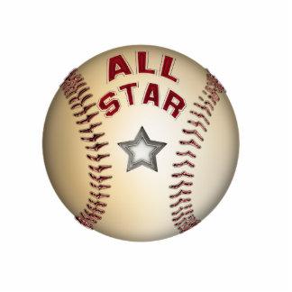 Baseball All Star Ornament Photo Cut Outs