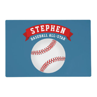 Baseball All-Star Placemat
