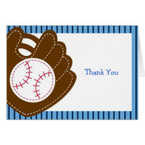 Baseball All Star Thank You Note Cards