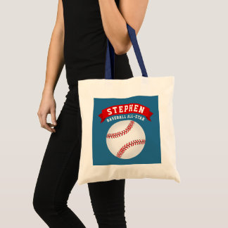 Baseball All-Star Tote Bag