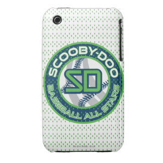 Baseball All Stars - Blue iPhone 3 Case