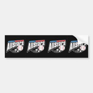 Baseball All Stars Bumper Sticker