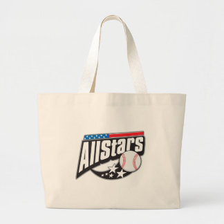 Baseball All Stars Jumbo Tote Bag