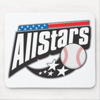 Baseball All Stars Mouse Pad