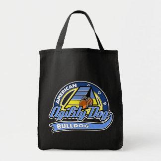 Baseball American Bulldog Agility Tote Bag