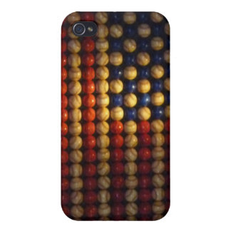 Baseball American Flag Art iPhone 5 Case