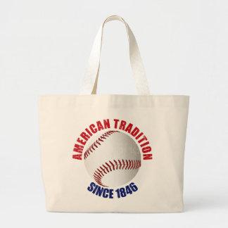 Baseball American Tradition Canvas Bags