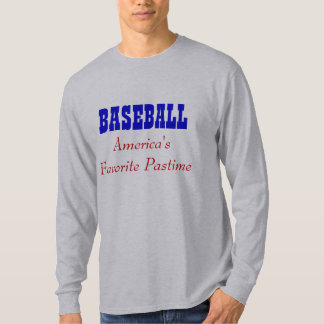 BASEBALL  America's Favorite Pastime T-Shirt