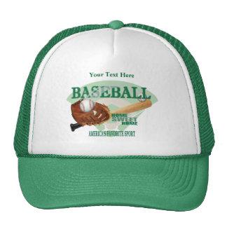 Baseball – Americas Favorite Sport Design Trucker Hat