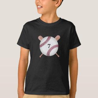 Baseball and Bats Personalized T-Shirt