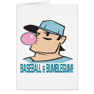 Baseball And Bubblegum Card