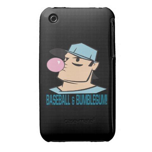 Baseball And Bubblegum iPhone 3 Cover