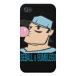 Baseball And Bubblegum iPhone 4 Covers
