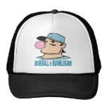 Baseball And Bubblegum Mesh Hat