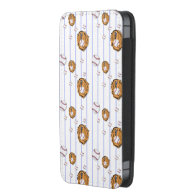 Baseball and Glove Pattern iPhone 5 Pouch