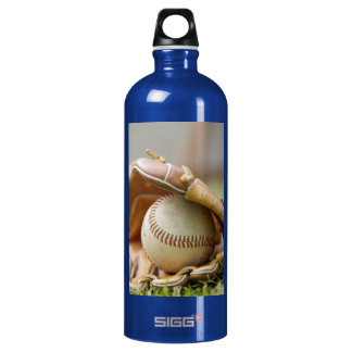 Baseball and Glove SIGG Traveler 1.0L Water Bottle