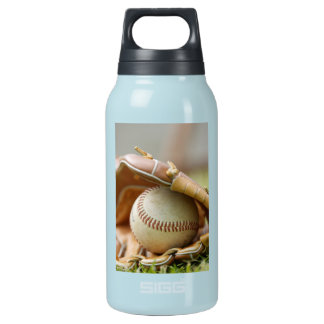 Baseball and Glove 10 Oz Insulated SIGG Thermos Water Bottle