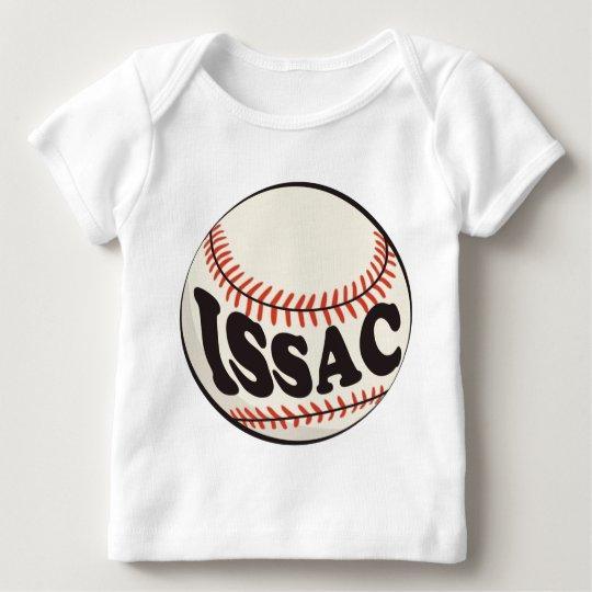 Baseball and Issac Baby T-Shirt