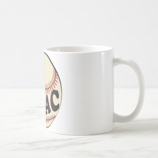 Baseball and Issac Classic White Coffee Mug