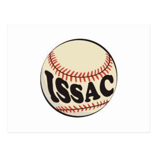Baseball and Issac Postcard