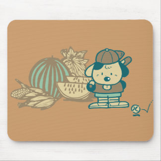 Baseball and Watermelon Tshirts and Gifts Mouse Pad