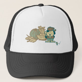 Baseball and Watermelon Tshirts and Gifts Trucker Hat