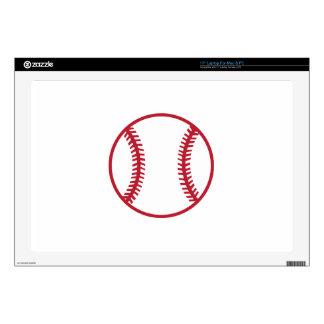 Baseball Applique Laptop Skins
