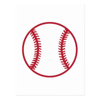 Baseball Applique Postcard