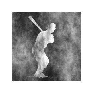 Baseball Art Canvas Print