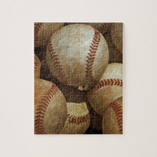 Baseball Art Jigsaw Puzzle