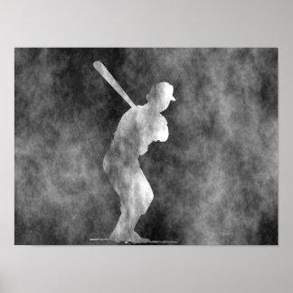 Baseball Art Poster