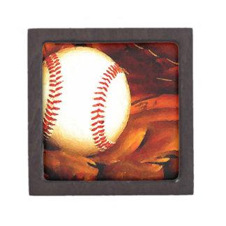 Baseball Art Premium Trinket Boxes