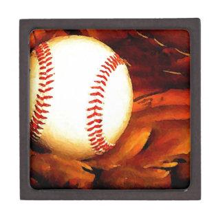 Baseball Art Premium Trinket Box
