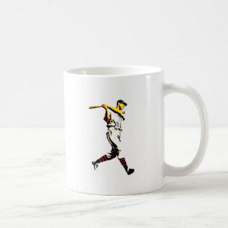 Baseball Artwork - Baseball Player Coffee Mug
