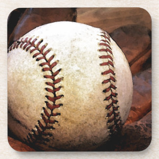 Baseball Artwork Beverage Coaster