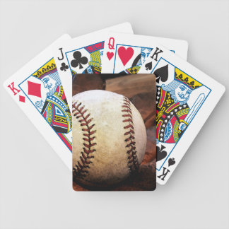 Baseball Artwork Bicycle Playing Cards