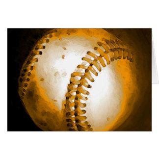 Baseball Artwork Card