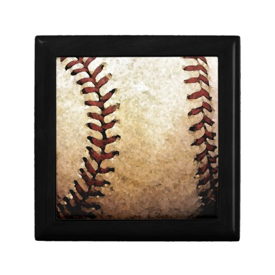 Baseball Artwork Gift Box