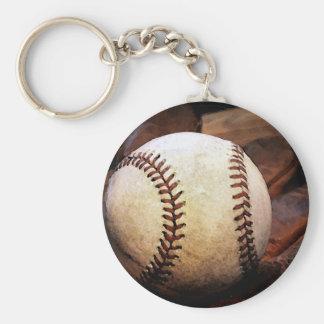 Baseball Artwork Keychain