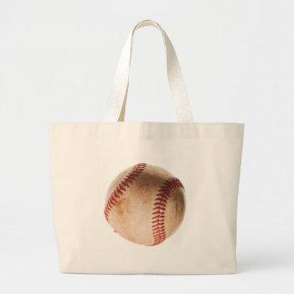 Baseball Artwork Large Tote Bag