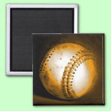 Baseball Artwork Magnet