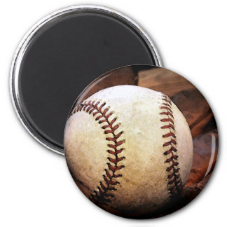 Baseball Artwork Magnet